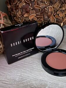 BOBBI BROWN Pot Rouge for Lips and Cheeks #6 POWDER PINK 3.7g Full Size NIB
