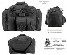 ONE-The A-10 Duffel Bag / Bug Out Bag Tactical / Military / Survival Gear -Black