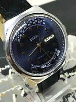 Men's Soviet Watch Raketa Perpetual Calendar Vintage Mechanical Watch USSR