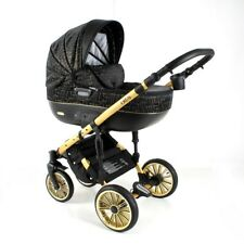 NEW! S-LINE OTTIS GOLD ADBOR 3in1 -pram/pushchair/car seat;complies with BS 5852