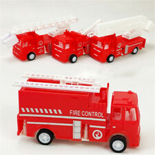 Pull Back Fire Truck Pretend Play Water Tanker Models Kids Educational Toys'Gift