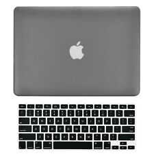 "Unik Case-2 in 1 Matte Hard Case & Silicone Skin for Macbook Pro 13"" -Grey"