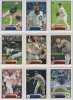 2012 Topps Baseball Team Sets **Pick Your Team**