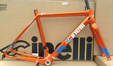 Cinelli Veltrix Columbus Carbon Road Bike Frameset Size X-Small 50cm  Orange