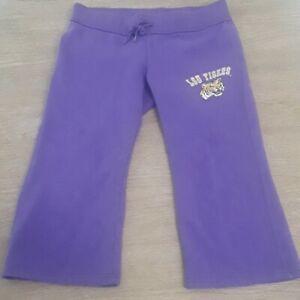 LSU Tigers - Colosseum Athletics - Girl's Large - Purple Sweatpants