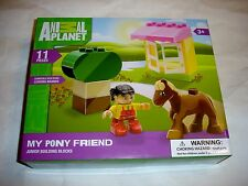 Animal Planet 11 Piece My Pony Friend MIB Preschool NEW lego duplo Mega Blok