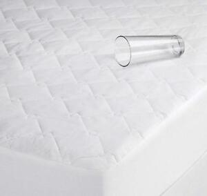 Luxury Waterproof Quilted Mattress Protector fitted sheet or Pillow protector
