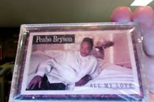 Peabo Bryson- All My Love- new/sealed cassette tape