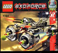 Lego--7704-- Bauanleitung-- EXOFORCE -- Nur Bauanleitung -