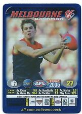 2005 Teamcoach Blue Star Premium Prize Card (25) Jared RIVERS Melbourne