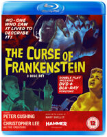 The Curse of Frankenstein Blu-Ray (2012) Peter Cushing, Fisher (DIR) cert 12 3