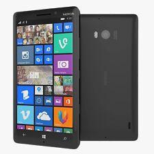 "Microsoft Nokia Lumia 930 32GB Black UNLOCKED 5.0"" 20MP HD Smartphone"