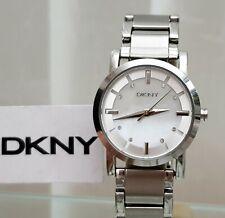 DKNY Ladies Designer Watch Swarovski Crystals ,Pear dial Genuine RRP £169 (564)