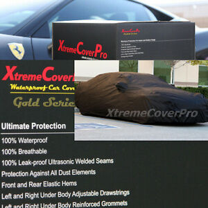 WATERPROOF CAR COVER BLACK for 2003 2004 2005 2006 Infiniti G35 Coupe