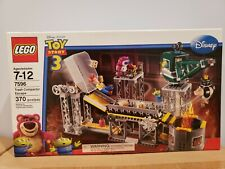 Brand new Lego Toy Story 3 Trash Escape 7596