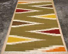 Brand New Moroccan Trellis Modern Style Handmade Woolen Rug 6x9 ft