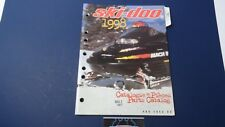 1998 Ski-doo MX Z 440 F Snowmobile Parts Manual #480 1452 00