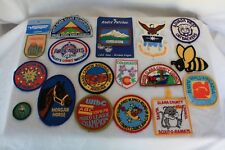 Lot of Patches Boy Scouts of America BSA Scouting Arizona Santa Clara Air Force
