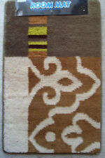 "Rubber Back MULTI-color Contemporary Door Mat Rug RECTANGLE 19.5"" x 32"" BY DADA"