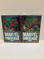 1992 Impel/SkyBox Marvel Universe Series 3 Trading Card Factory-Sealed -Lot of 2