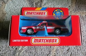 Matchbox SuperKings Grand Fury Fire Chief Car Vintage 1990 1/43 scale