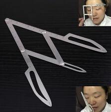 Reusable Microblading Makeup Eyebrow Calipers Stencil Design Golden Ratio Ruler