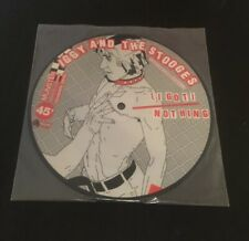 """IGGY AND THE STOOGES - I GOT NOTHING 7"""" VINYL 45 picture disc EX"""