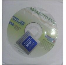 original Treiber Asus M4A87TD EVO CD DVD OVP NEU Windows XP Vista Win 7 Sticker