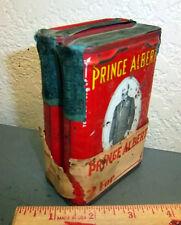 vintage Prince Albert tobacco tin, set of 2, w/ original wrapper, great tax tags