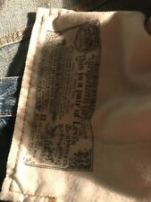 Levi's 501xx Shrink to Fit Button Fly Jeans 38 x 30 - Made in USA - Used-1987