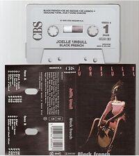 JOELLE URSULL cassette K7 tape BLACK FRENCH black and white blues gainsbourg
