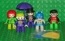 LEGO - Duplo Batman Minifigures: Batman, Robin, Joker, Poison Ivy & Penguin