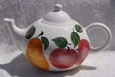 CKAO International Trading Company Ceramic Hand Painted FRUIT TEA POT TEAPOT