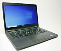 "Dell Latitude E5450 14"" 512GB SSD Intel i7 2.6GHz 16GB RAM Windows10 Pro Webcam"