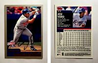 Jose Vidro Signed 2000 Topps #77 Card Montreal Expos Auto Autograph
