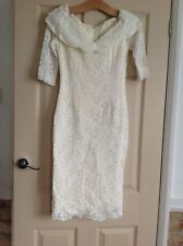 Vintage, Robe de mariée par PRONUPTIA Taille 10 Crème/Ivoire