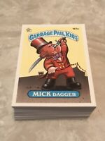 Garbage Pail Kids 1986 Series 5 Complete Set 80 Cards Mint PSA