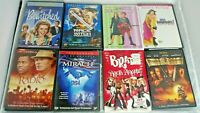 Lot Of 8 DVD Movies Family- Bewitched, Bratz, Miracle, Freaky Friday, etc