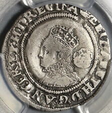 1568 Elizabeth I 6 Pence Great Britain Silver Coin PCGS VF Det (20112601C)