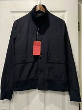 BNWT Paul Smith Mainline Navy Bomber Jacket Made in Italy Size Small RRP £350