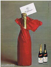 PUBLICITE ADVERTISING 105  1966  KRITTER  vin mousseux