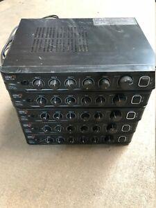 Inter-M MA-106 Public Address Desktop Amplifier Job lot of 5 All Power on Tested