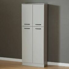 Kitchen Storage Pantry Cabinet Cupboard Food Organizer Furniture Shelf Tall Wood