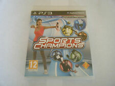Sports Champions - Sony PlayStation 3 - PS3 - Occasion - Sans Notice - Promo