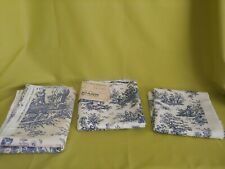 Home Decorator Fabrics Toile Remnants Pillows Upholstery++