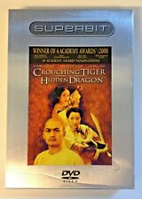 Crouching Tiger,Hidden Dragon Superbit Edition 2002 Ang Lee w/slipcover-Like New