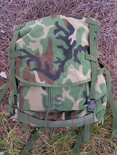 Molle II Woodland Rucksack, Shoulder Straps and Waist Belt !! USGI !!