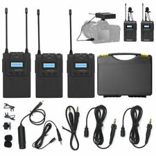 BOYA BY-WM8 Pro K2 UHF 2 Channel Wireless Lavalier Microphone System For ENG EFP