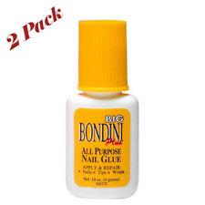 Big Bondini Plus All Purpose Nail Glue -Size 0.14 oz (2 Pack)