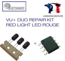 VU+ DUO, VU Plus Duo Red Light Repair / Reparation LED ROuge